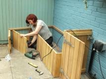 Bench takes shape 3